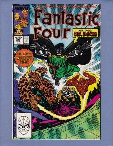 Fantastic Four #318 NM Dr Doom Marvel 1988