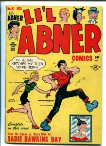 LIL ABNER #61 1947-HARVEY-1ST ISSUE-BASIL WOLVERTON-AL CAPP-fn