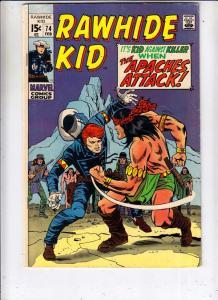 Rawhide Kid #74 (Feb-70) FN/VF Mid-High-Grade Rawhide Kid