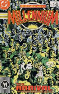 Millennium #1 VF/NM; DC | save on shipping - details inside