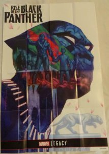RISE OF THE BLACK PANTHER Promo Poster, 24 x 36, 2017, MARVEL, Unused 152