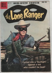 Lone Ranger, The #125 (Dec-59) FN+ Mid-High-Grade The Lone Ranger, Tonto, Silver