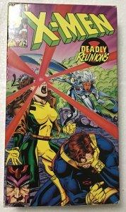 X-Men: Marvel Comics VHS X-Men Deadly Reunions
