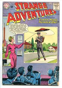 Strange Adventures #148-1962-Mailman Flying Saucer cover- DC Silver Age vg