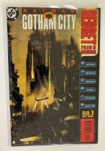 Batman Gotham City Secret Files #1 DC 8.0 VF (2000)