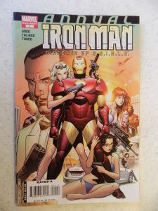 IRON MAN AGENT OF SHIELD ANNUAL # 1