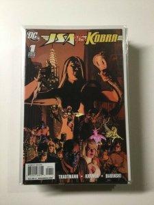 JSA vs. Kobra #1 (2009) HPA
