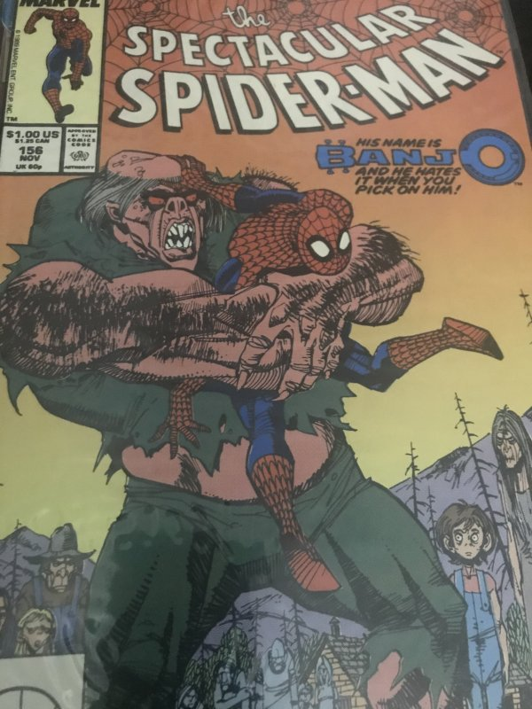 Marvel The Spectacular Spider-Man #156 Mint