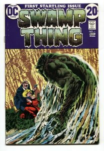 SWAMP THING #1-1972- Justice League Dark BRONZE-AGE DC FN+