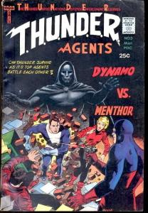 THUNDER AGENTS #3-DYNAMO/MENTHOR-COMIC FN