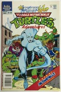 TEENAGE MUTANT NINJA TURTLES ADVENTURES#54 VF/NM 1994 NEWSTAND ARCHIE COMICS