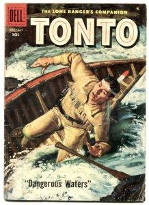 Tonto #31 1958- Dell Western- Lone Ranger's companion G