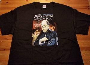 Classic Phantom of the Opera Movie. Lon Chaney T-Shirt XL NOS w/ Tags Impact