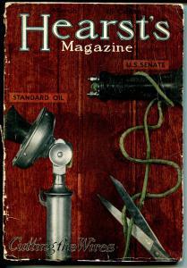 Hearst's 3/1913-pulp format--Winston Churchill-Howard Chandler Christy-P