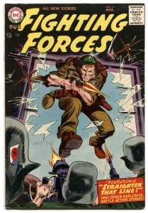 Our Fighting Forces #19 1957-DC war- Kubert cover VF-