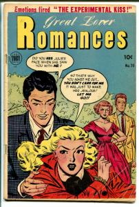Great Lover Romances #20 1954-Toby-Canadian variant-Dr Anthony King-FR