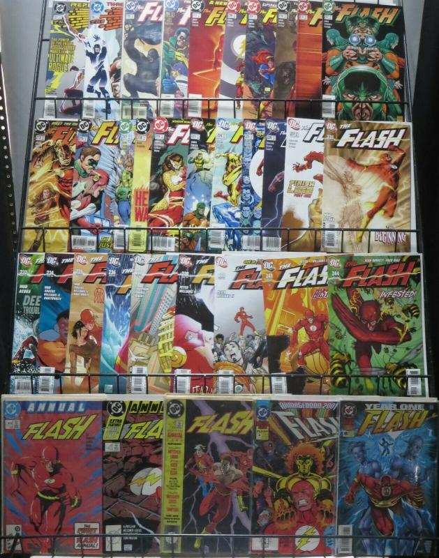 FLASH (DC, 1987) COLLECTION TWO! 35 issues! Waid, Geoff Johns, Howard Porter