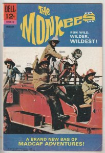 Monkees, The #7 (Dec-67) VF+ High-Grade The Monkees (Peter Tork, David Jones,...