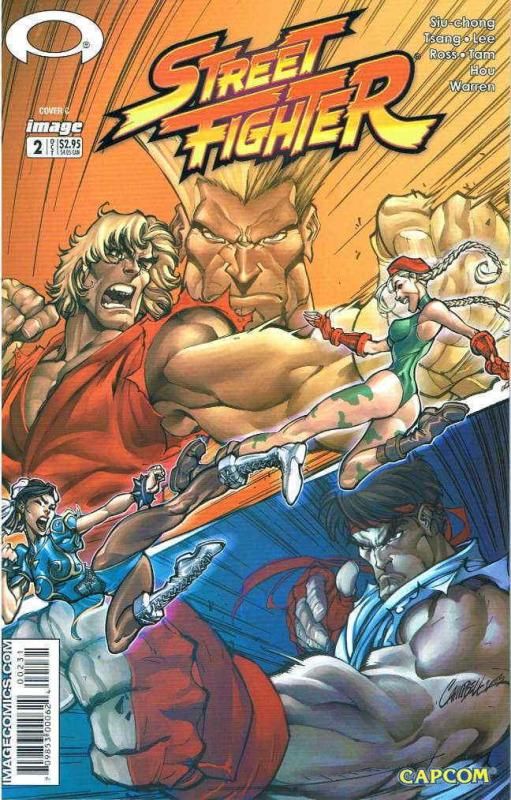 Street Fighter (Image) #2B VF/NM; Image | save on shipping - details inside