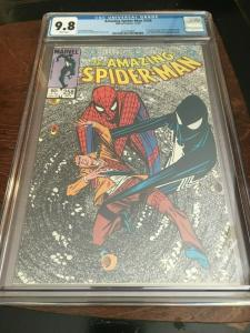 AMAZING SPIDER-MAN#258 CGC 9.8 BLACK COSTUME REVEALED AS SYMBIOTE COPPER AGE KEY