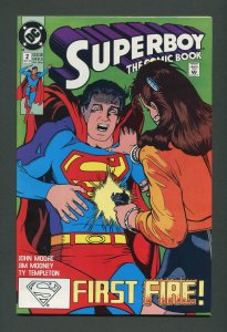 Superboy #2 (2nd Series) / 9.4 NM   March 1990