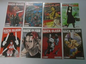 Hack Slash the Series lot 30 different from #2-30 + Specials 8.0 VF (2007-09 Dev