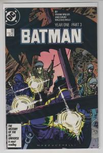 BATMAN YEAR ONE 4 ISSUE SET 407 408 409 410 ALL NM-/NM