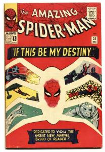 AMAZING SPIDER-MAN #31 1st Gwen Stacy SILVER-AGE FN