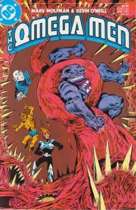 Omega Men (1982 series) #24, NM- (Stock photo)