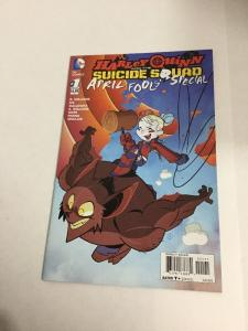 Harley Quinn And The Suicide Squad April Fools' Special Variant Nm Near Mint