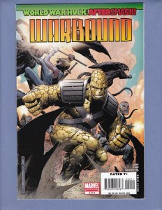 World War Hulk After Smash Warbound #2 NM- Marvel 2008