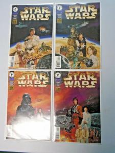 Star Wars A New Hope Special set #1 to #4 - see pics - 6.0 - 1997