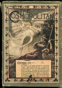 Cosmopolitan 12/1904-Christmas issue-pulp fiction-famous cartoonists-VG