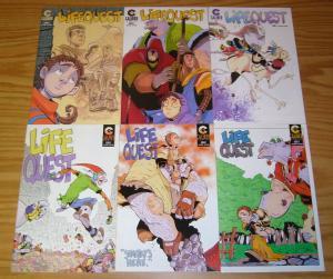 Life Quest #1-6 VF/NM complete series MATT VANDERPOL caliber comics lifequest