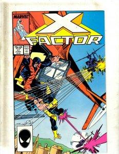 Lot of 12 X-Factor Marvel Comic Books #17 18 19 20 21 22 23 25 26 27 28 29 SB1