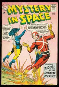 MYSTERY IN SPACE #85 1962-ADAM STRANGE-ROCKET PACK CVR FN