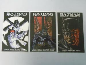 Batman Deathblow After the Fire set #1-3 (2002) 9.4 NM