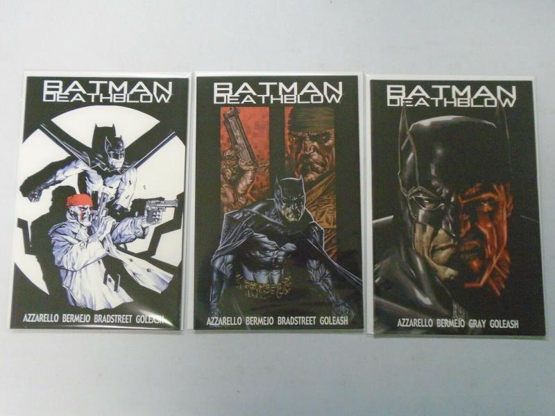 Batman Deathblow After the Fire set #1-3 (2002) NM