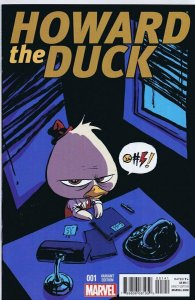 Howard The Duck Vol 4 #1 Cover C Variant Skottie Young Baby Cover 2015 Marvel