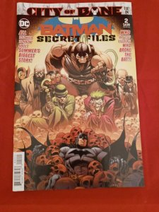 Batman Secret Files #2 DC Comics 2019 City of Bane Joker Riddler Gotham NM
