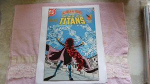 1985 DC COMICS THE NEW TEEN TITANS # 16