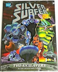 SILVER SURFER: THE ENSLAVERS HARD COVER 1990 MARVEL GRAPHIC NOVEL