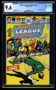 Justice League of America #127 CGC NM+ 9.6 White Pages DC Comics
