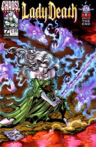 Lady Death #7 VF/NM; Chaos | save on shipping - details inside