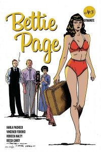 Bettie Page #3 Peeples 1:7 Homage Variant (Dynamite, 2020) NM