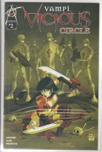 Vampi Vicious Circle set #1to3 (Jun-04) NM Super-High-Grade Vampirella