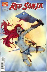 RED SONJA #7, NM-, She-Devil, Sword, Amy Reed, 2013, more RS in store