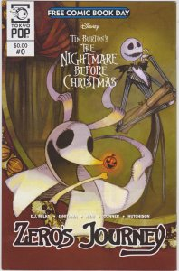 Disney Tim Burton's The Nightmare Before Christmas: Zero's Journey Free Comic Bo