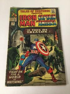 Tales Of Suspense 70 4.0 Vg Very Good Marvel SA