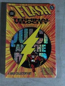 FLASH COLLECTOR'S SET - TERMINAL VELOCITY STORYLINE STILL SEALED - 95-100(1995)